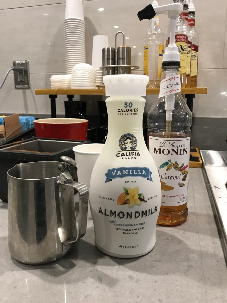 Perfect Latte Ingredients